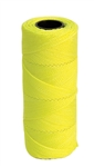 KC16134 250' Yellow Nylon Twisted Mason Line #18