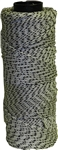KC18232 500' Salt & Pepper Nylon Bonded Braided Mason Line #18