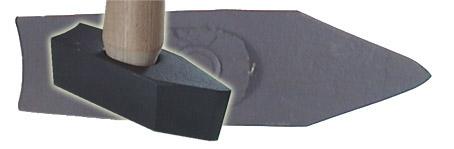 MPL#2 3lb Double Concave Stone Mason Hammer