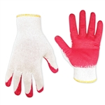 NG1915 Pr Red Palm Rubber Dipped Glove - Large - Sold in Packs of 10 Only