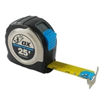 OXP029425 OX 25' SS MAGNETIC TAPE MEASURE