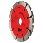 "OXPDTP-4.5""   OX Pro Sandwich Double Tuck Pointing Diamond Blade"