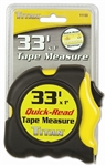 "TI11133 33' x 1"" Titan Powerlock Tape Measure"