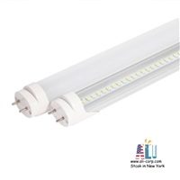 25 pack LED Tube 4ft Ballast Compatible-3000K-(Type A+B) (18W)Milk