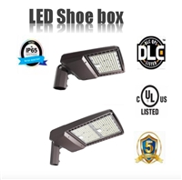 LED Shoebox 200W -5000K Meanwell driver