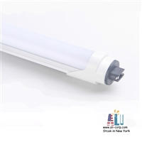 25 pack LED Tube 8Ft Bypass--MILKY R17D-6000K