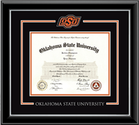 OSU Spirit Medallion in Encore Diploma Frame