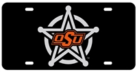 OSU Sheriff's Badge License Plate OUT OF STOCK