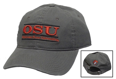 Gray OSU Bar Hat OUT OF STOCK