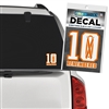 10 Remembered Decal