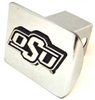 OSU Brand Chrome Hitch Cover