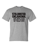 Stillwater Grad Gray T-Shirt