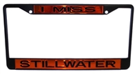 I Miss Stillwater License Plate Frame