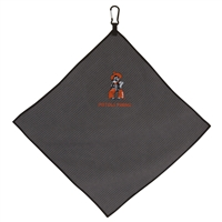 OSU Microfiber 15x15 Golf Towel