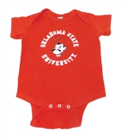 OSU Circle Pete Onesie