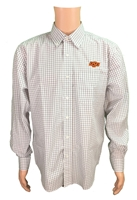 OSU Poplin Gingham Shirt OUT OF STOCK