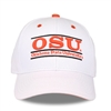 White OSU Bar Hat