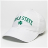 LUCKY STATE WHITE CAP