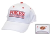 White Pokes Bar Hat