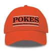Orange Pokes Bar Hat
