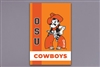 OSU OK State Mascot Striped Flag