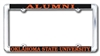 Alumni Chrome License Plate Frame OUT OF STOCK