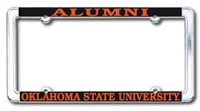 Alumni Chrome License Plate Frame