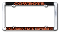 Cowboys Chrome License Plate Frame