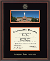 OSU Campus Scene Williamsburg Diploma Frame