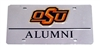 Mirror Alumni Acrylic License Plate