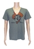 OSU Grey Pete V-Neck