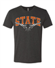 OSU STATE with Pistols Track Tee