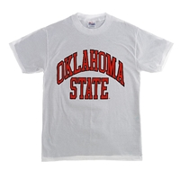 OSU Youth White Full Arch T-Shirt OUT OF STOCK