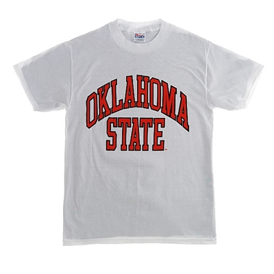 OSU Youth White Full Arch T-Shirt