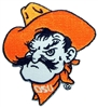 OSU Pistol Pete Head Patch