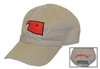 OSU STATE of OK Khaki Hat