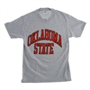 Oklahoma State Gray Full Arch T-Shirt