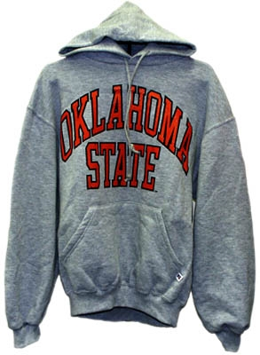 OSU Athletic Gray Hooded Pullover Sweatshirt