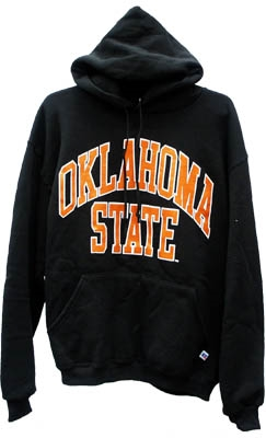 OSU Black Hooded Pullover Sweatshirt