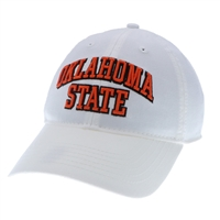 OSU Arching Oklahoma State White Cap