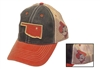 OSU State Outline Trucker Hat OUT OF STOCK