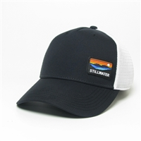 Stillwater Black PVC Patch Hat
