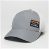 Stillwater Grey PVC Patch Hat
