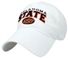 White STATE Puff Hat