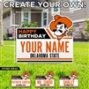 OSU CREATE YOUR OWN BIRTHDAY SIGN