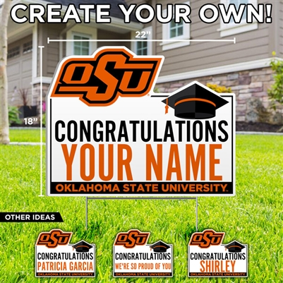 OSU CREATE YOUR OWN GRAD SIGN