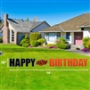 OSU HAPPY BIRHTDAY YARD SIGN
