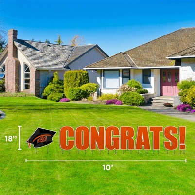 OSU CONGRATS YARD SIGN