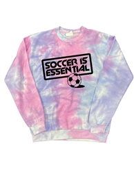 Soccer Is Essential Cotton Candy CREW