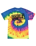 Soccer Is Essential Neon Rainbow T